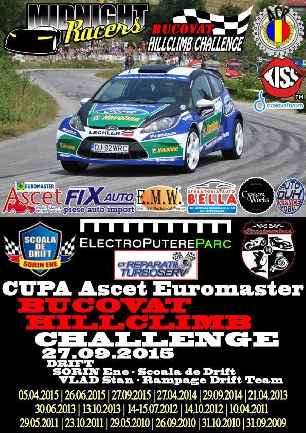 Bucovat Hillclimb Challenge – Cupa ASCET Euromaster