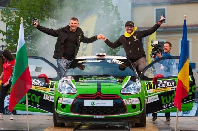 Victorie cu emotii pentru Adrian Raspopa la Raliul Sibiului