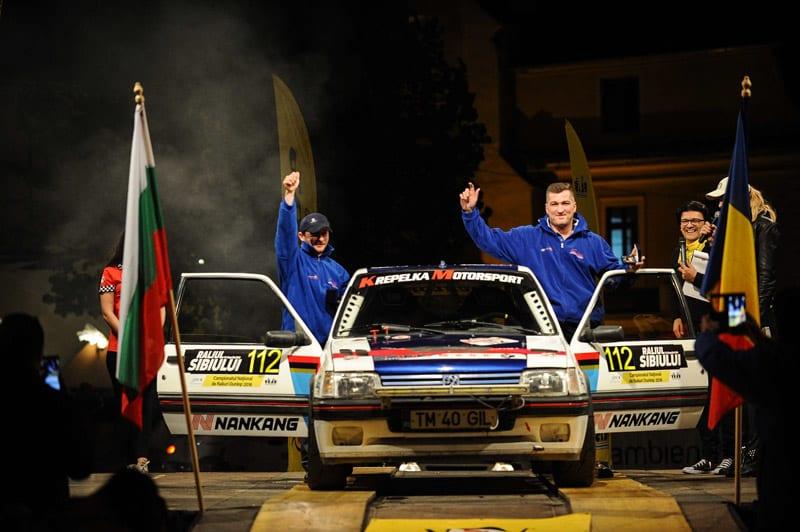 Romain Desire Marc Gilles / Alin Lapadusa lideri după prima zi la Raliul Sibiului în cadrul CNR2