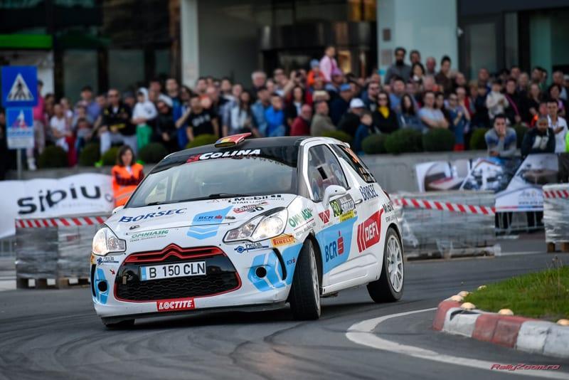 Cinci clasari pe podium pentru echipajele BCR Rally Team, la Sibiu