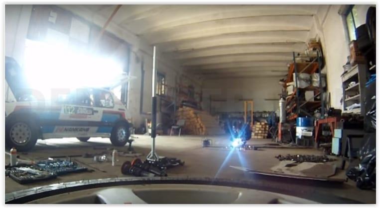 Trecerea de la asfalt la macadam cu Romain Gilles si Alin Lapadusa – VIDEO