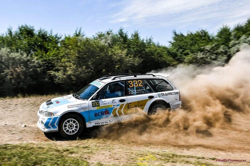 BCR Rally Team  pregatita sa continue lupta la Raliul Moldovei Moinesti 2016