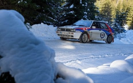 Roumanie Historic Winter Rally