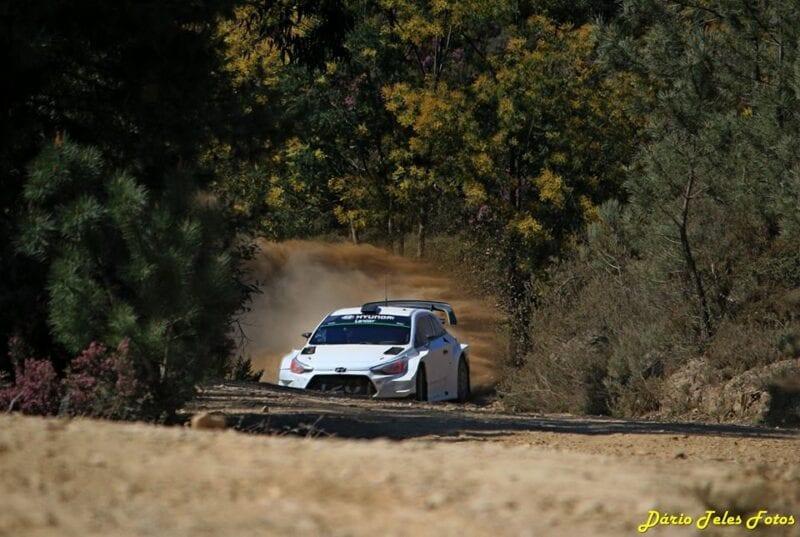 Hyundai face teste pentru etapa din Corsica