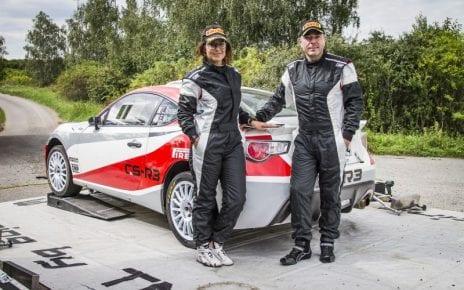 Luca Rossetti va lua startul la Transilvania Rally cu o Toyota GT86 CS