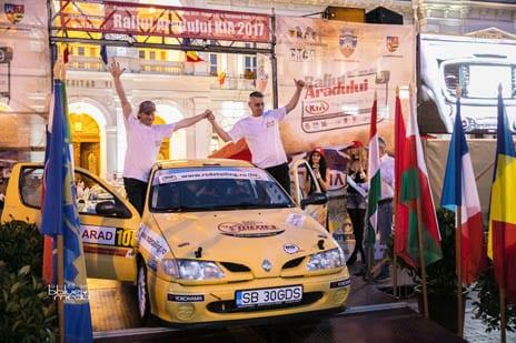 Cosmin Salistean s-a impus la Raliul Aradului Kia in cadrul Rally 2