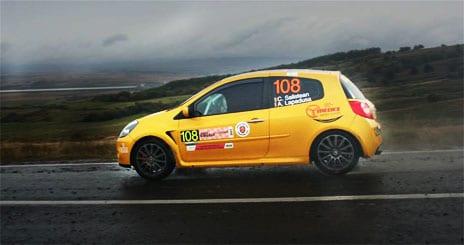 Cosmin Salistean /Alin Lapadusa campioni nationali la Rally2