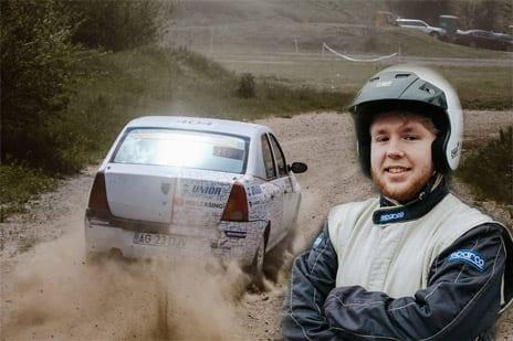 Vis indeplinit pentru tanarul Cristi Sugár, in viteza spre Rally2.