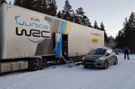 Raul Badiu si Gabriel Lazar sunt gata de startul in Junior WRC 2019