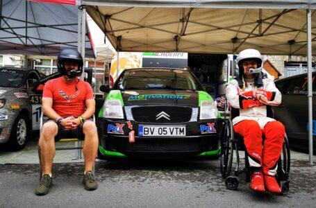 Ciprian Daniel Lupu – primul pilot în scaun rulant din tara, debut in Campionatul National de Raliuri