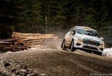 Raul Badiu termina cu bine etapa de Junior WRC din Suedia
