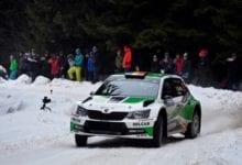 Dan Girtofan, distractie la maxim in Winter Rally Covasna 2020