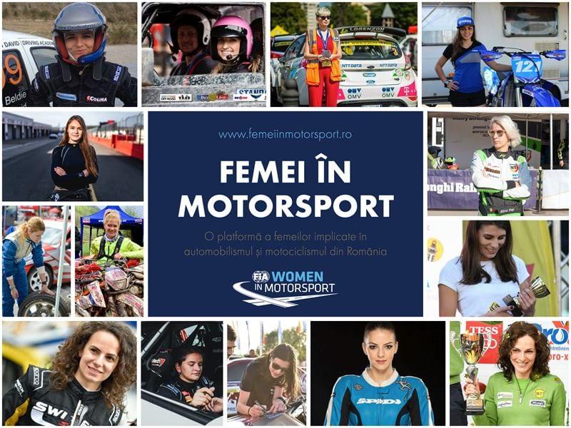 """Un an de """"Femei in Motorsport"""" si la cat mai multi"""