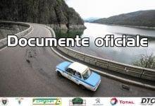 Raliul Argesului Catena 2020 – documente oficiale