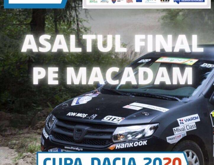 Asaltul final pe macadam – Cupa Dacia 2020