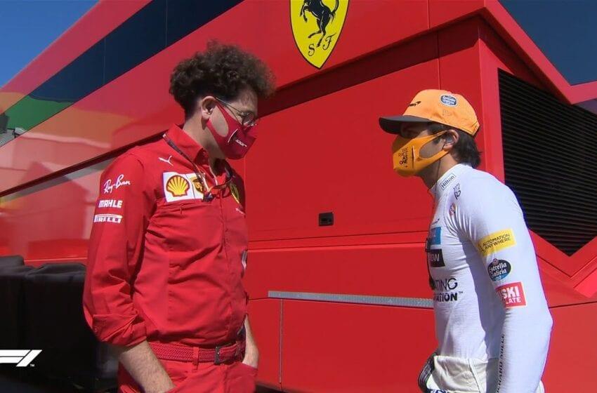 Cei de la Ferrari sunt multumiti ca l-au ales pe Carlos Sainz pentru 2021