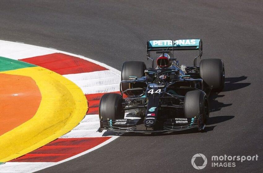 Pole Position pentru Lewis Hamilton la Portimao