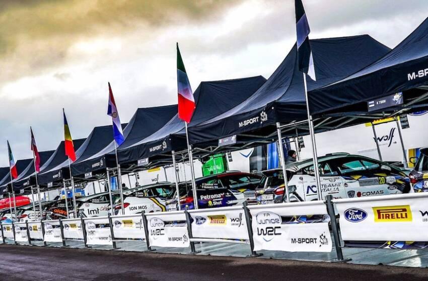 Junior WRC va avea 5 runde in sezonul 2021