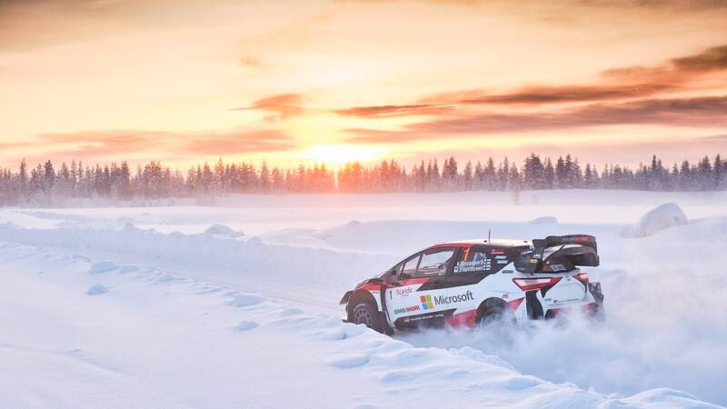 ARCTIC RALLY FINLAND inlocuieste etapa din Suedia