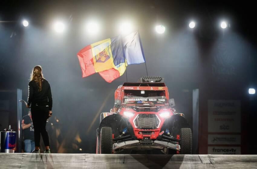 Claudiu Barbu si Marius Lupu continua aventura Dakar