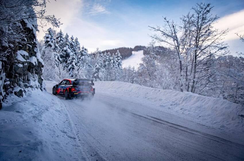 WRC Monte Carlo: Tanak isi adjudeca primele doua probe