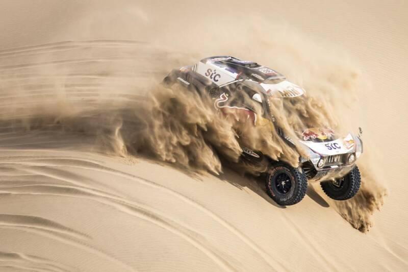 Peterhansel obtine titlul cu numarul 14 in Dakar